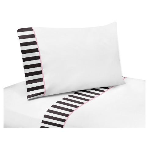 Black White Sheet Set Twin Sweet Jojo Designs Target