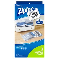 Ziploc 3-pack Space Bag (Large)