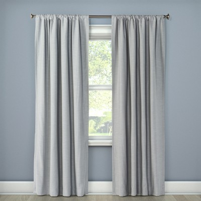 Blackout Curtain Panel Henna Gray 95  - Project 62™