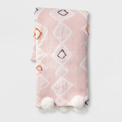 Pink Global Throw Blanket - Opalhouse™ - image 1 of 6