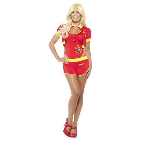 44e6e44ff03e Women s Baywatch Lifeguard Costume - M   Target