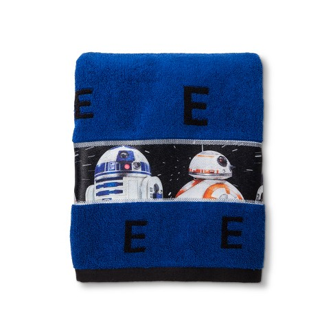 Star Wars® Blue Bath Towel - image 1 of 2
