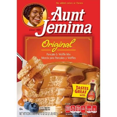 Aunt Jemima Original Pancake & Waffle Mix - 32oz