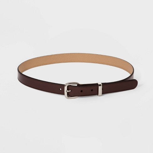 Women's Trouser Belt - A New Day™ Brown - image 1 of 2