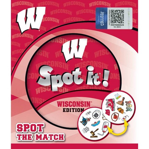NCAA Wisconsin Badgers Spot It Game - image 1 of 3