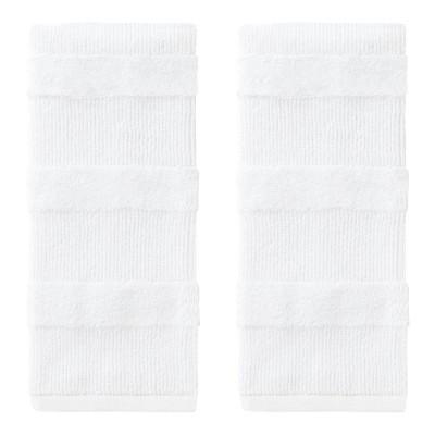 2pk Efrie Hand Towel Set White - SKL Home