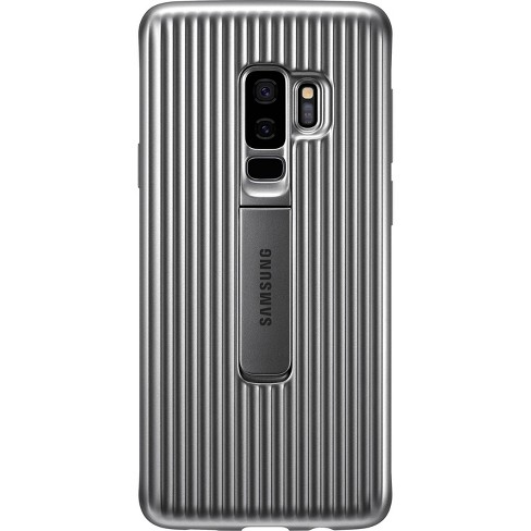 competitive price 4d2b7 1cca4 Samsung Galaxy S9+ Rugged Protective Standing Case - Silver