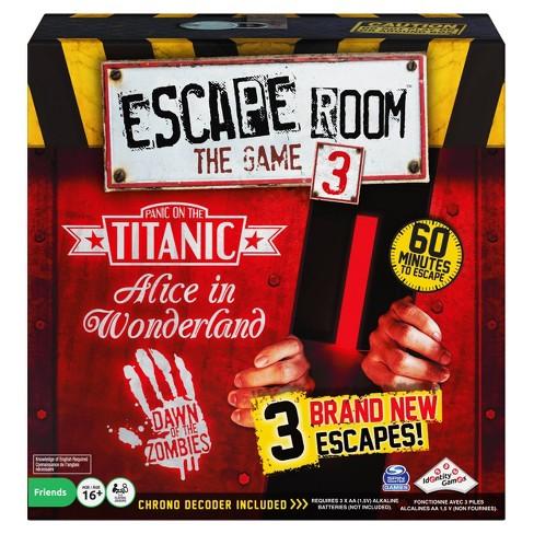 Escape Room Version 3 Board Game - image 1 of 4