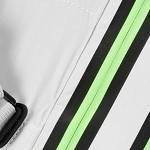 light grey-neon green