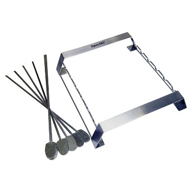 Dyna-Glo 6pc Skewer and Rack Set