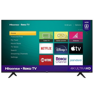 "Hisense 55"" Roku 4K UHD HDR Smart TV (R6040G)"