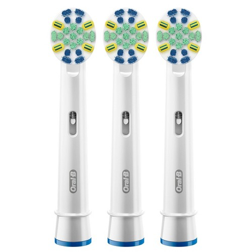 Oral-B FlossAction Electric Toothbrush Replacement Brush Heads - 3ct