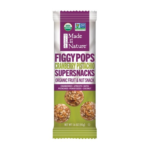 Made in Nature Cranberry Pistachio Figgy Pops - 1.6oz Bag - image 1 of 1