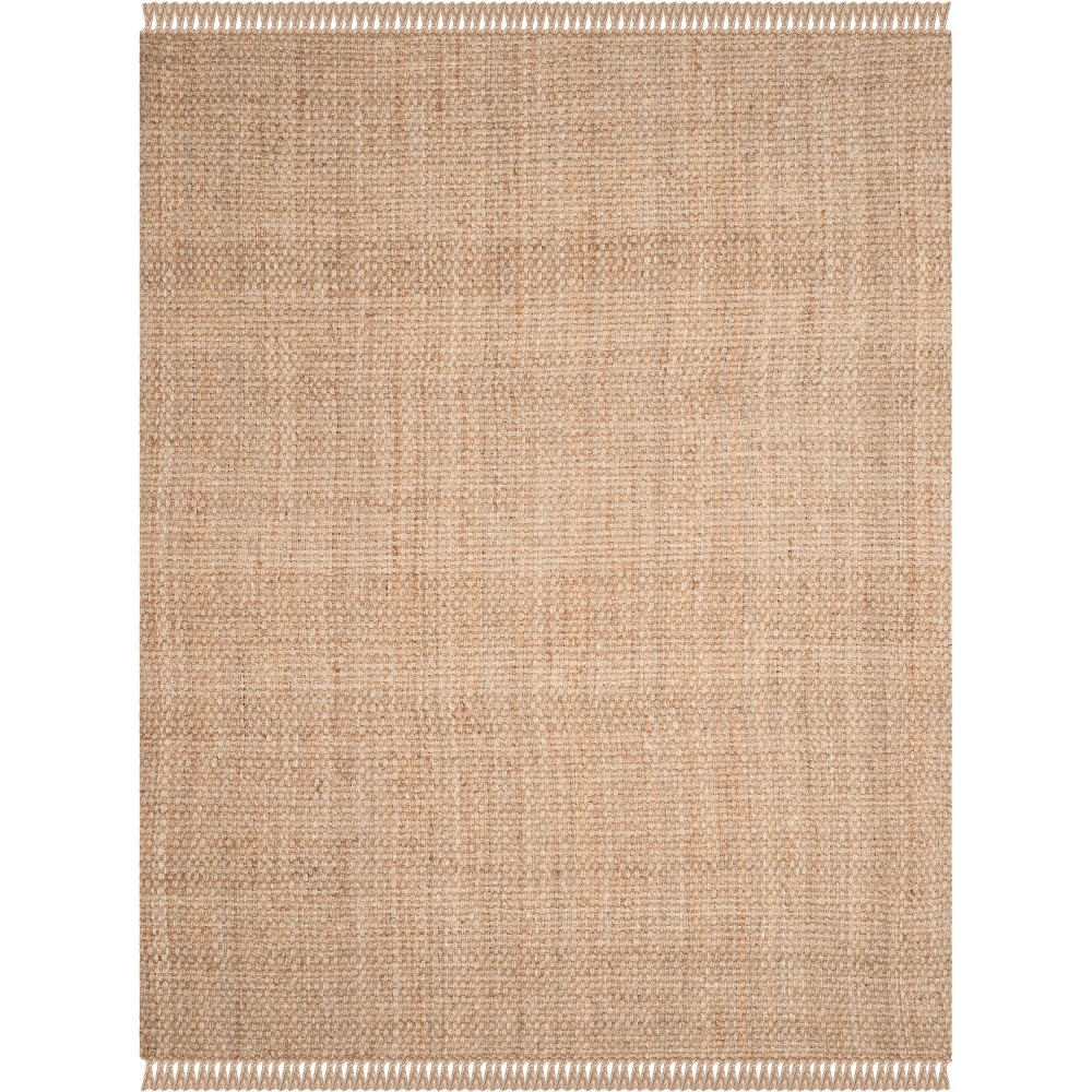 11'X15' Solid Woven Area Rug Light Gray - Safavieh, White