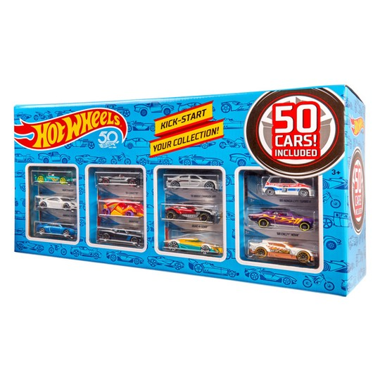 Hot Wheels 50 Car Pack, toy vehicles image number null