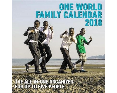 One World 2018 Family Calendar (Paperback) - image 1 of 1