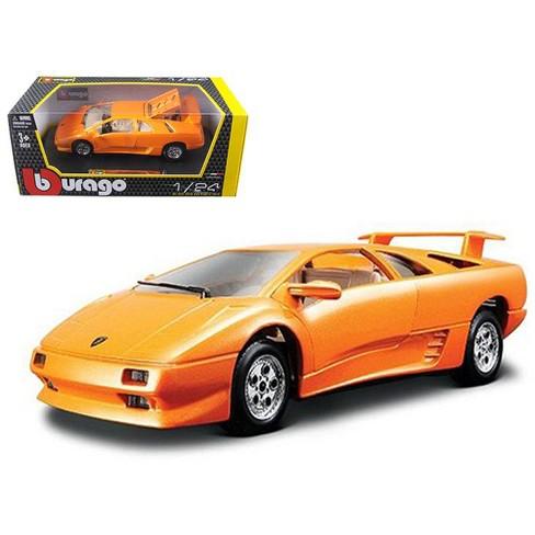 Lamborghini Diablo Orange 1 24 Diecast Car Model By Bburago Target