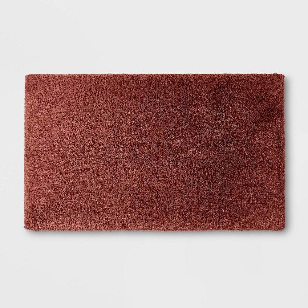 24 34 X40 34 Ultra Soft Tufted Bath Rug Clay Casaluna 8482