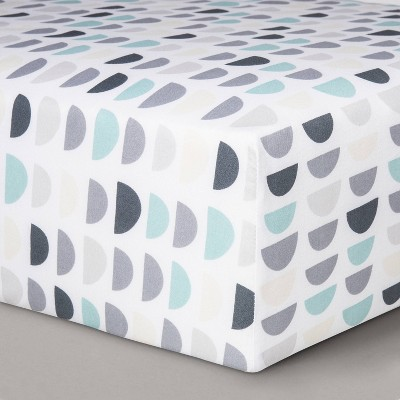 Fitted Crib Sheet Half Circles - Cloud Island™
