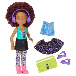 Barbie and the Rockers Chelsea Doll Boombox and Fashion Giftset