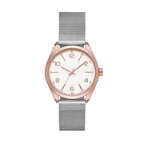 6e2b989fe Women's Mesh Strap Watch - A New Day™ : Target