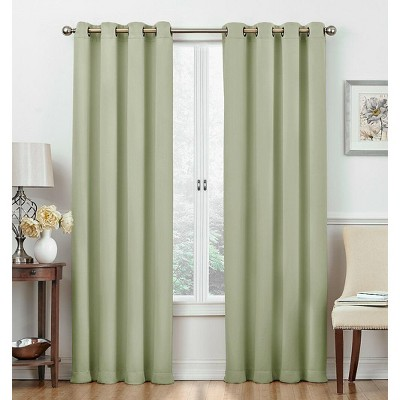 Regal Home 2 Pack: Regal Home 100% Blackout Grommet Top Hotel Curtains