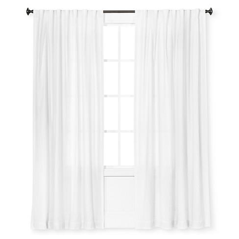 Curtain Panel Linen-Look Cream - Threshold™ - image 1 of 1