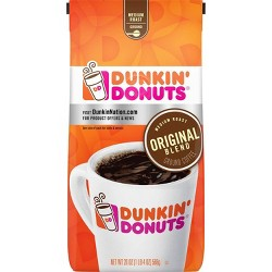 Dunkin' Donuts Original Blend Medium Roast Ground Coffee - 20oz