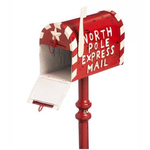 3 5 Ft Letters To Santa Mail Box Outdoor Decor Target