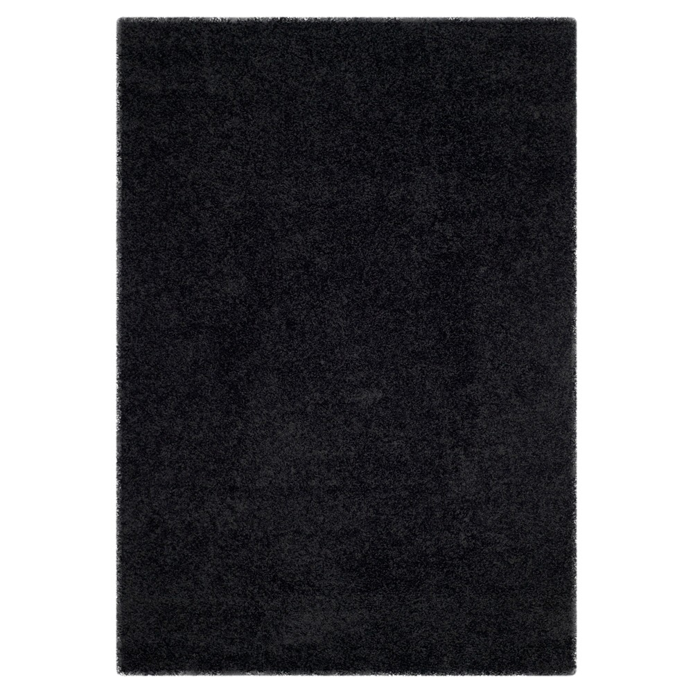 Black Solid Loomed Area Rug - (8'6x12') - Safavieh