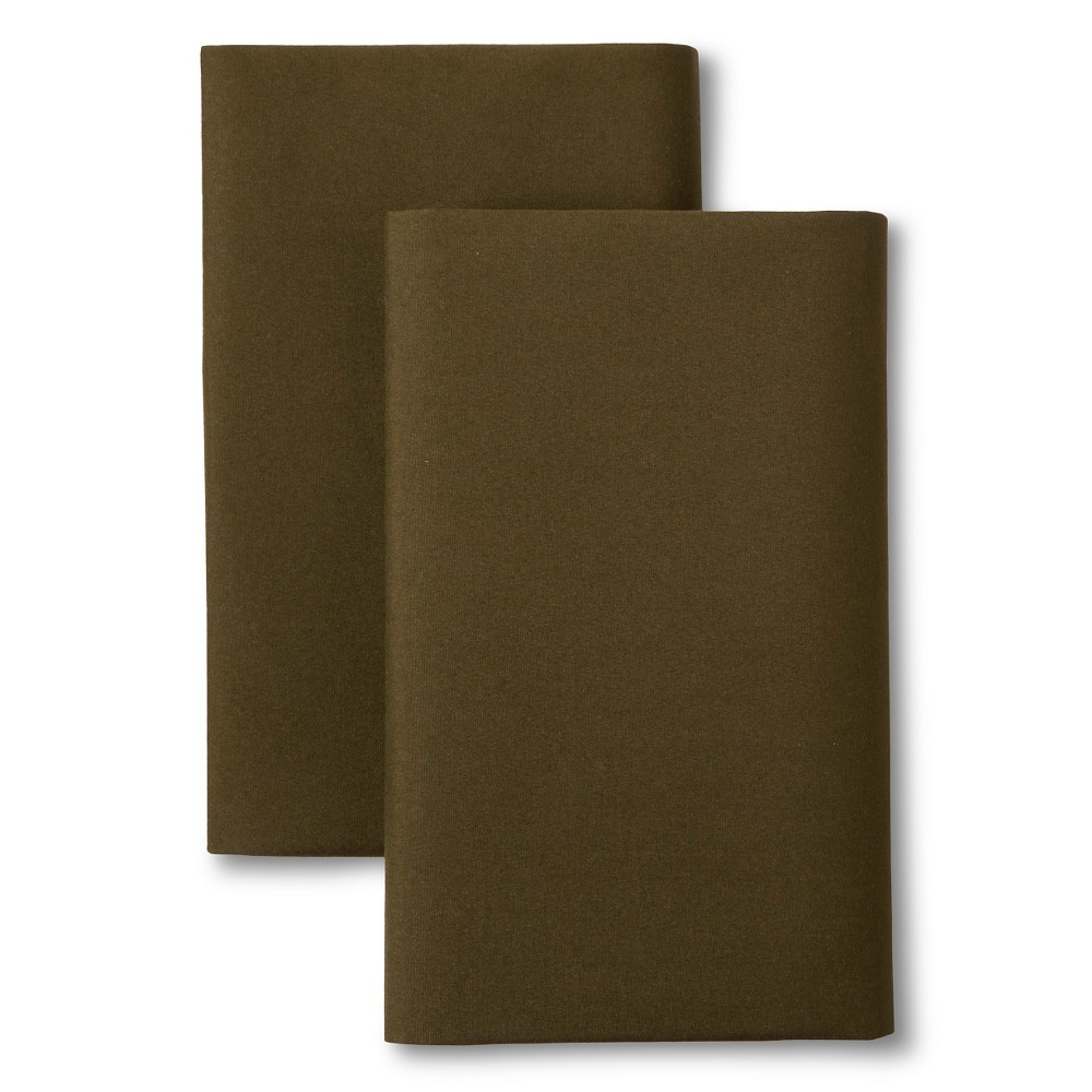 Olive (Green) Solid Pillow Sham (Standard) - Room Essentials
