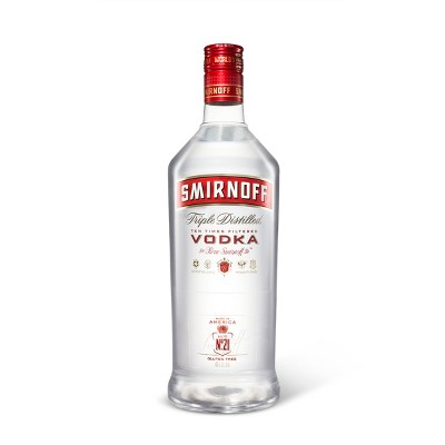 Smirnoff Vodka - 1.75L Plastic Bottle