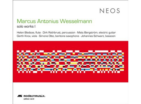Marcus A Wesselmann - Solo Works I (CD) - image 1 of 1