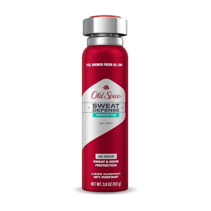 Old Spice Pure Sport Antiperspirant & Deodorant Spray - 3.8 Fl Oz : Target