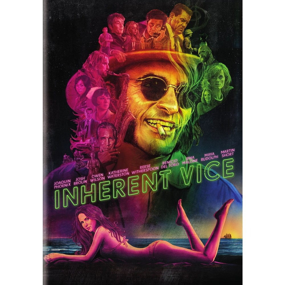 Inherent Vice (Includes Digital Copy) (UltraViolet) (dvd_video)