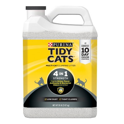 Purina Tidy Cats  4-in-1 Strength Multi-Cat Clumping Litter