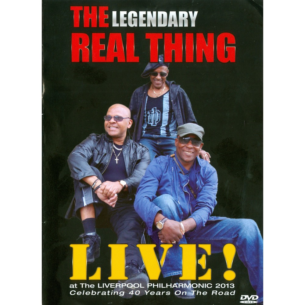 Real Thing:Live At The Liverpool Phil (Dvd)