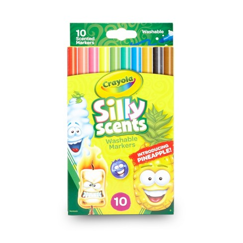 Crayola Silly Scents Markers Fineline 10ct - image 1 of 4