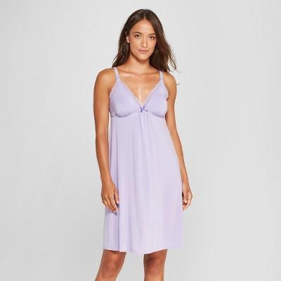 Women's Nursing Sleep Chemises - Gilligan & O'Malley™ Violet Tulip S