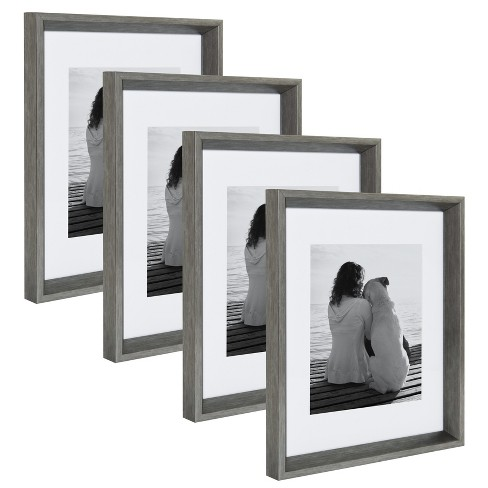 """11""""x14"""" Calter Photo Frame Set Silver - Kate & Laurel All Things Decor - image 1 of 6"""