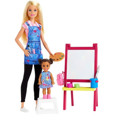 Barbie You Can Be Anything Art Teacher Blonde Doll