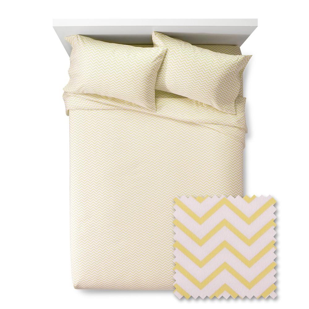 Chevron Sheet Set - Pillowfort, Gerbera Yellow