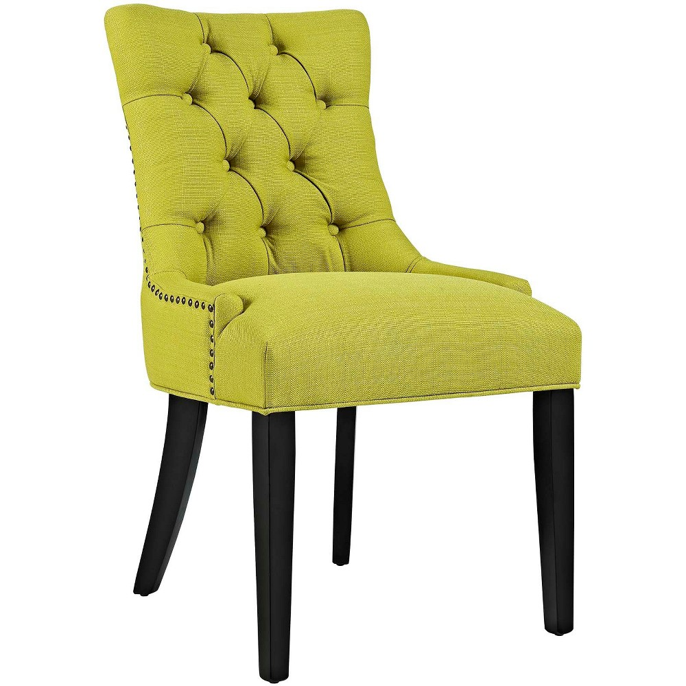 Regent Fabric Dining Chair Lime (Green) - Modway