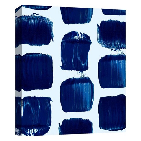 """Brushstrokes I Decorative Canvas Wall Art 11""""x14"""" - PTM Images - image 1 of 1"""