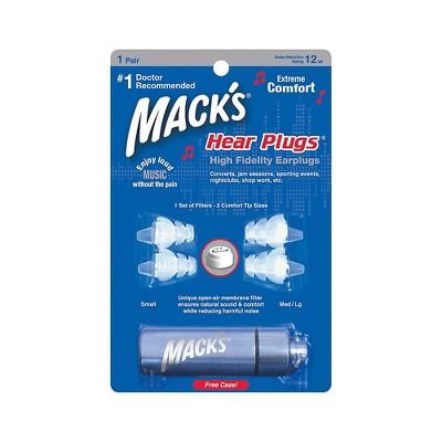 Mack's Hear Plugs, High Fidelity Ear Plugs