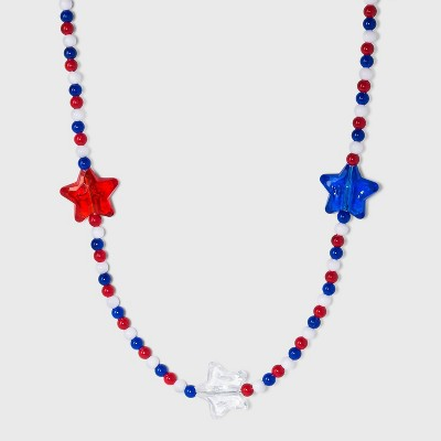 Charlotte Beaded Star Light Up Necklace