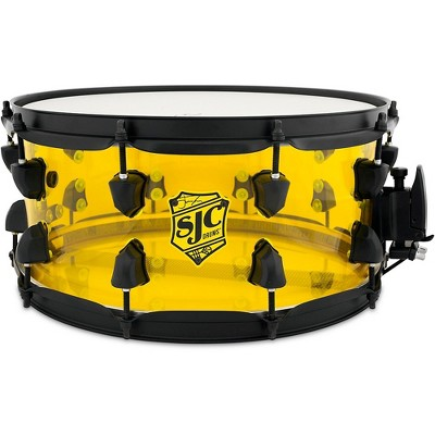 SJC Drums Josh Dun Acrylic Crowd Snare Drum 14 x 6.5 in.