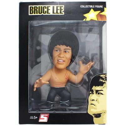 "Round 5 Bruce Lee Enter The Dragon 5"" Vinyl Figure Shirtless"