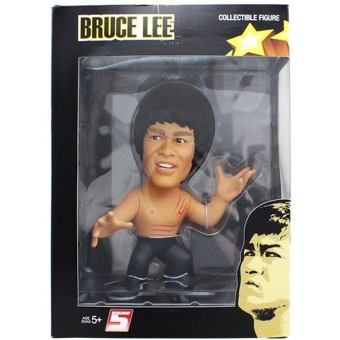 "Round 5 Bruce Lee Enter The Dragon 5"" Vinyl Figure Shirtless - image 1 of 2"