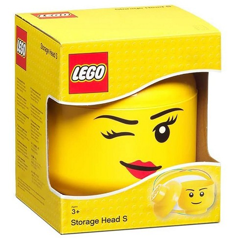 Room Copenhagen LEGO Large 9 x 10 Inch Plastic Storage Head   Winking - image 1 of 3
